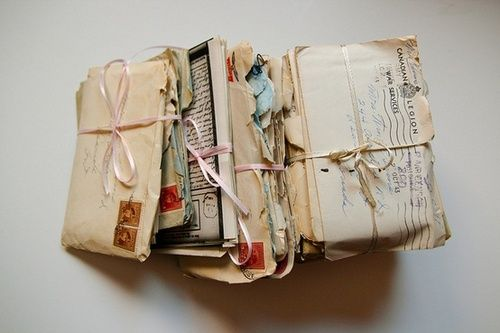 The good old days - love handwritten letters