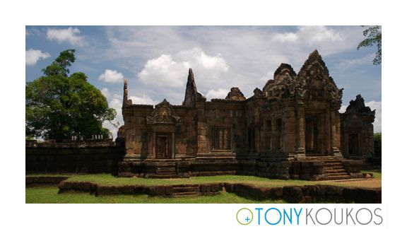 thailand, temple, architecture, Phanom Rung, Phimai Rung, bas-reliefs, stone, spiritual, hindu, intricate, foliage, steps