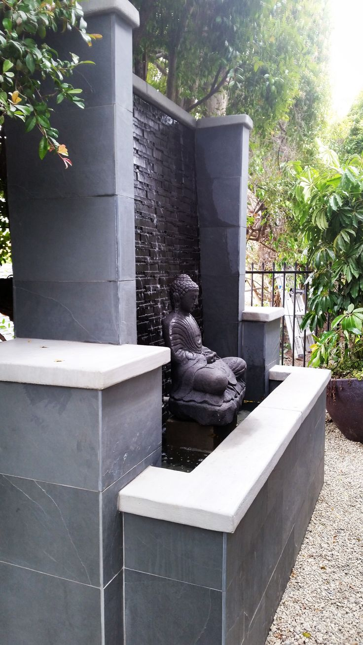 Floating Buddha Water Feature