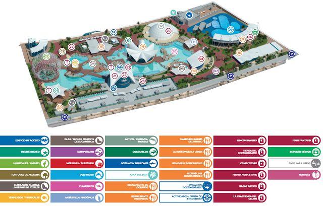 Plano parque I Oceanogràfic Valencia