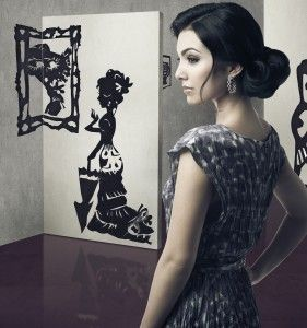 Check into a Silhouette Artist's Imagination, Not just Black and White