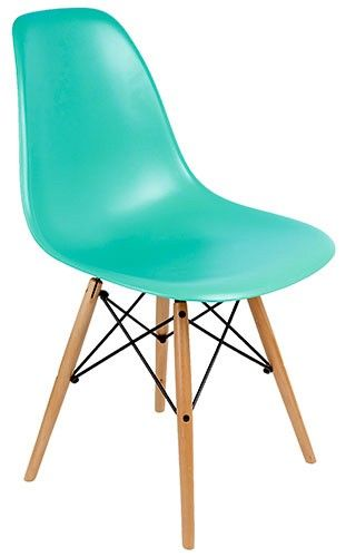 Eames DSW Chair Reproduction   Pearl Blue   Pash Classics