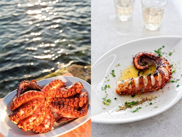 Octopus is one of the marvels of the sea that the people of the Aegean highly appreciate, and use it as one of the basic ingredients  for many traditional recipes.