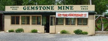 Spruce Pine Gemstone Mine