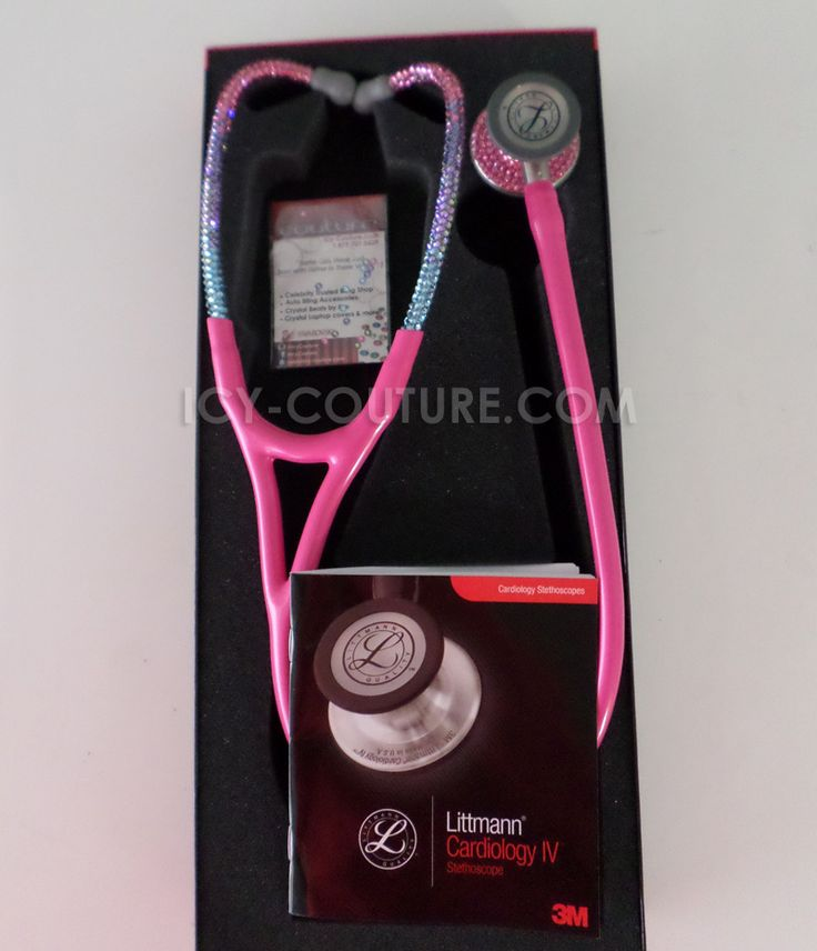 Littmann Cardiology III Stethoscope with Swarovski Crystals - Barbie Ombre. What Your Colors?