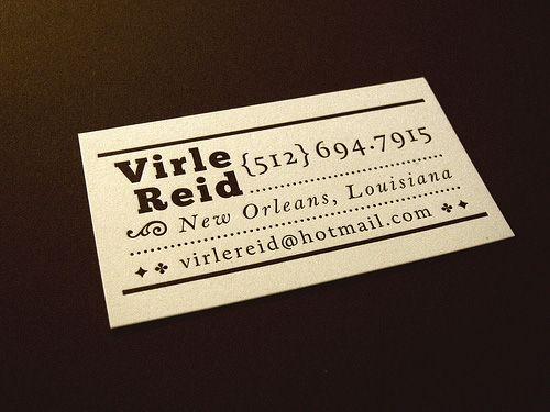 28 best business card samples images on pinterest brand identity business card for virle reid the best of business card design reheart Choice Image