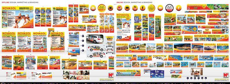 Selected range done for NOVASOL.cz (Czech Republic/Česká republika) from January 2015 – September 2017.  Online & offline graphic design, branding, marketing, audio & visual, web, seo, social media …