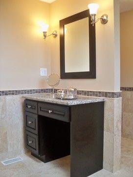 Master Bathroom Mirror Ideas Double Sinks Middle