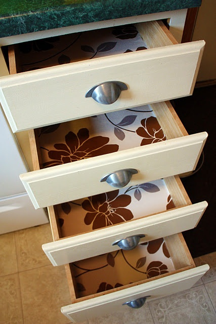23 best Drawer liners images on Pinterest | Drawer, Drawer liners and Cabinet drawers