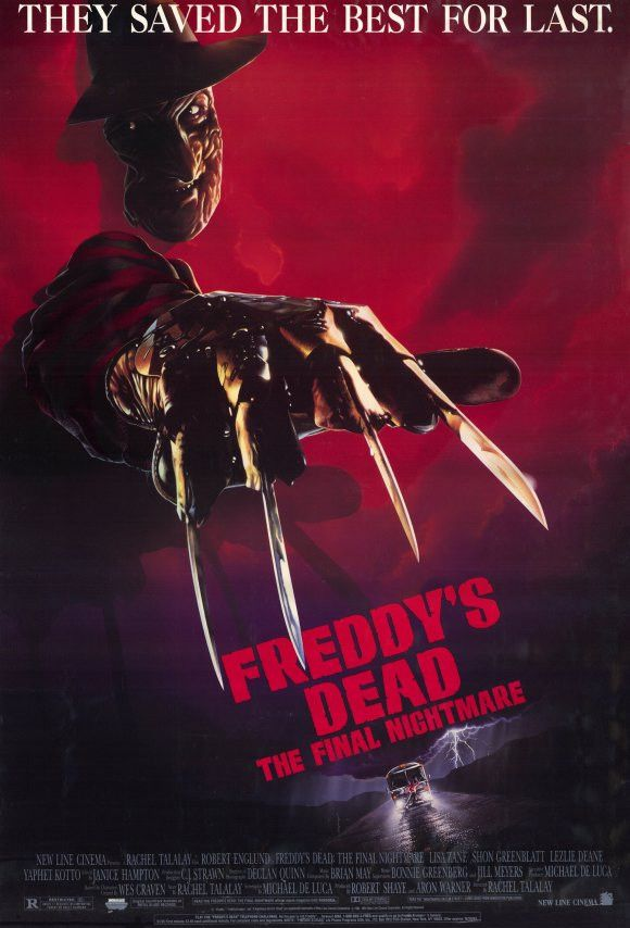 Freddy's Dead Final Nightmare 11x17 Movie Poster (1991)