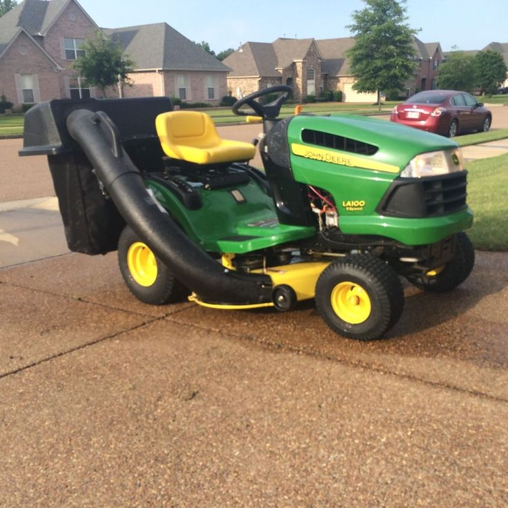 Riding Lawn Tractor Attachments : Best images about riding lawn mowers on pinterest