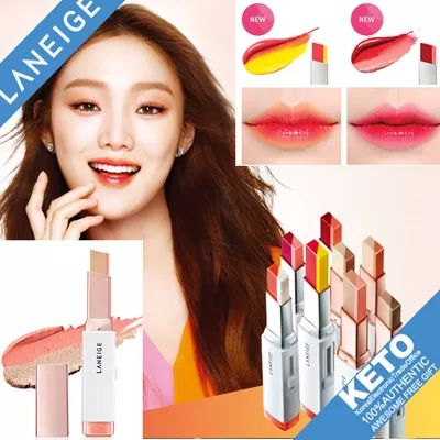 [S$19.90](▼5%)[LANEIGE] laneige 口红/New Color 2016.Mar/two tone lip bar/Two Tone Lip Bar/Two Tone Shadow Bar/Lip Sleeping Mask/pure radiant shadow/gradiant shadow makeup/pure radiant blusher/natural shading cheek