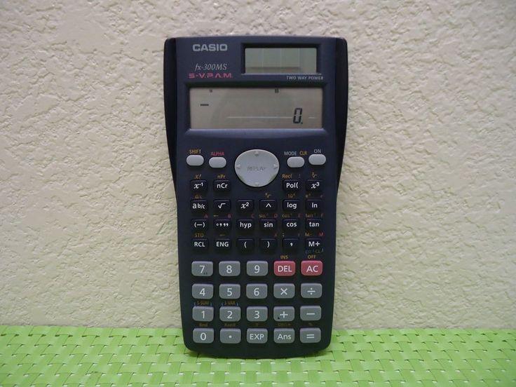 Casio FX-300MS Scientific Calculator FREE SHIPPING #Casio
