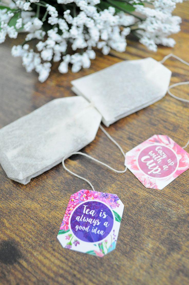 DIY Bridal Shower Tea Party Invitations 13