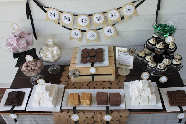 Mirabelle Creations: S'mores Bar Party