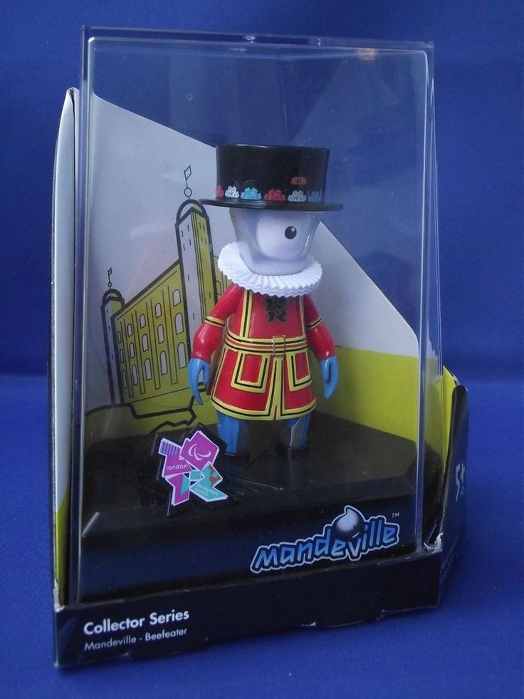 Beefeater Mandeville Olympic Mascot Official Product London 2012 Boxed BNIB  | eBay