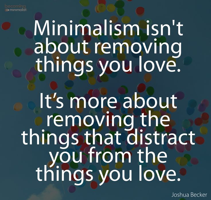 via Joshua Becker, Becoming Minimalist.