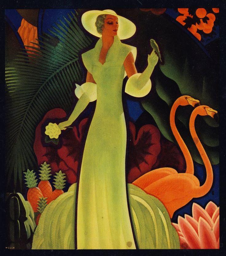 401 best art deco illustrations images on pinterest for Art deco illustration
