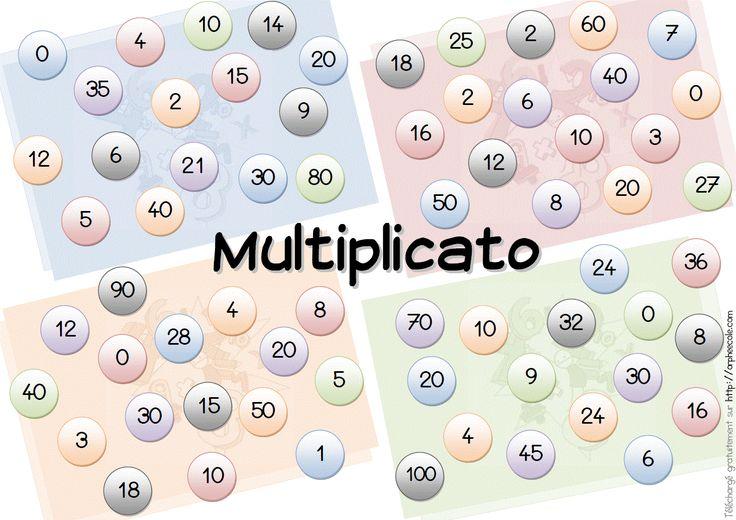 Les 25 meilleures id es concernant jeux sur les for Table de multiplication cm2
