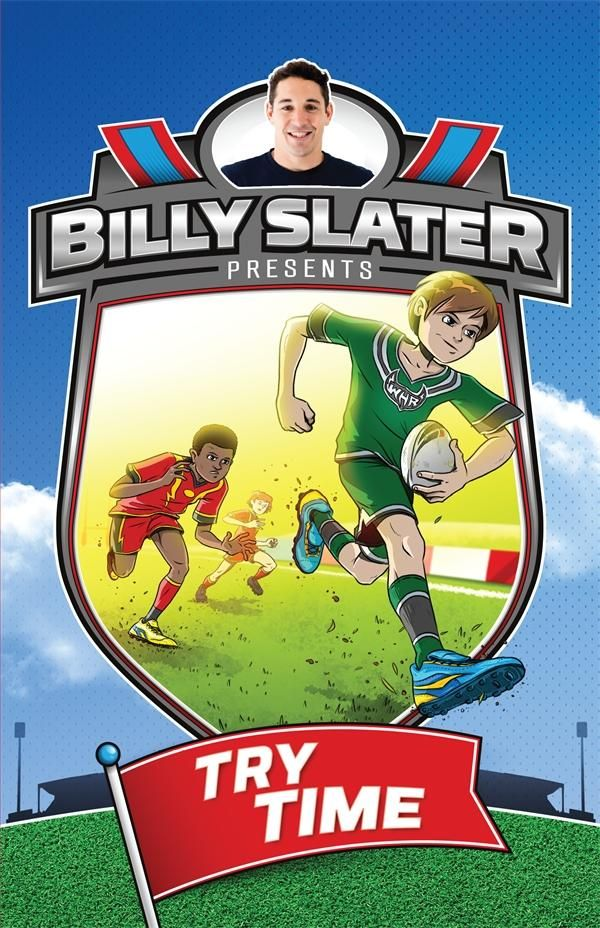 CRE SPO F LOU A junior fiction series for boys about a local boys' rugby league team who get special coaching and advice from star NRL player Billy Slater.
