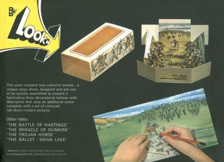 Patterson blick panorama boxes. Battle of hastings
