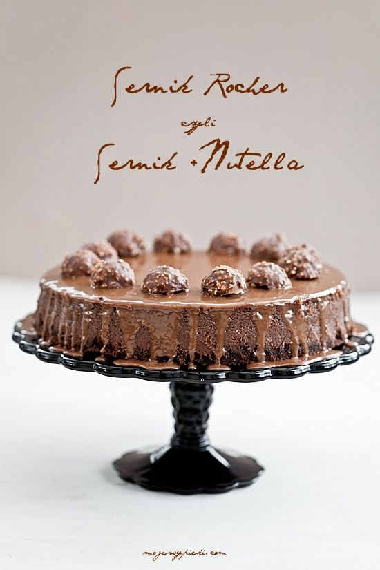 Recipe | Ferrero Rocher & Nutella Cheesecake