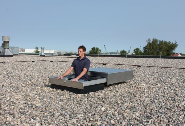 Roof Hatch Ideas Modern Rooftop Access Options Roof Hatch Roof Access Hatch Roof