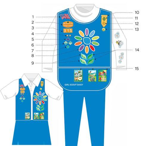 Daisy Uniform + Insignia