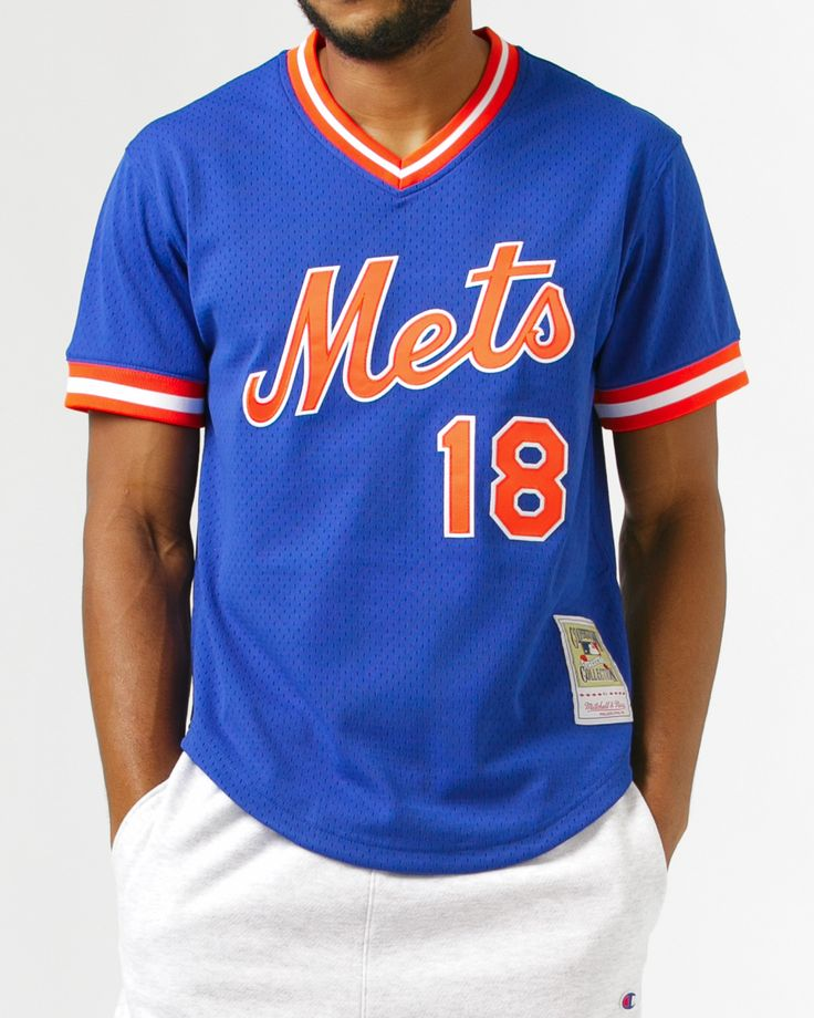 Darryl Strawberry Batting Practice Jersey