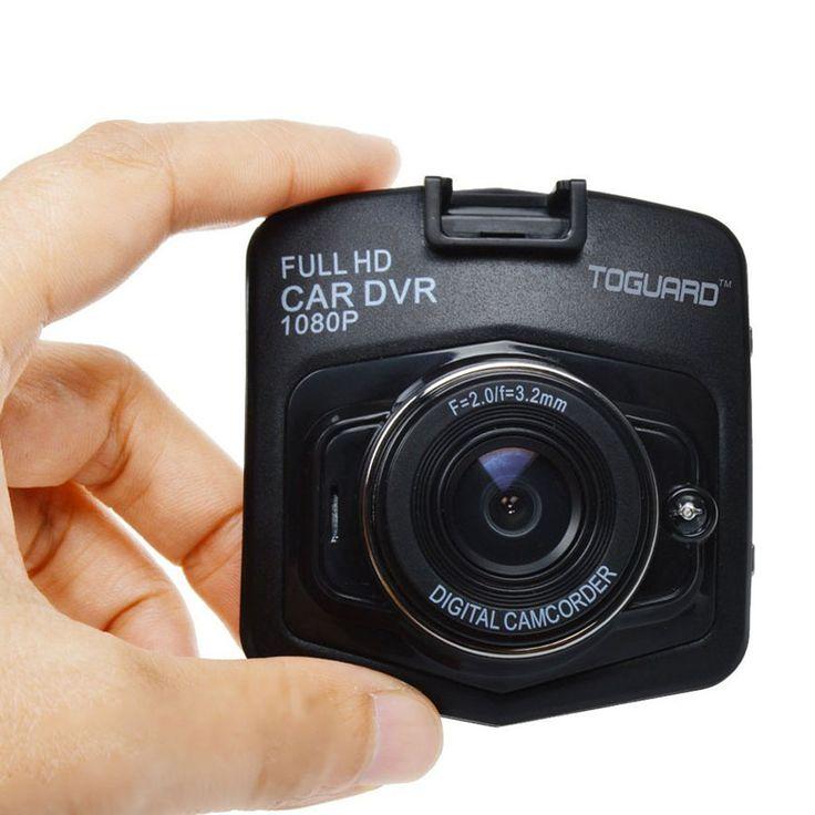 "Negro TOGUARD 2.46 "" Full HD 1080 P Mini coche DVR Dash Cam vídeo Registrator cámara Auto grabador de G-sensor de visión nocturna"