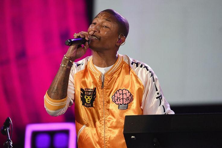 Pharrell Debuts an N.E.R.D. x Human Made Jacket