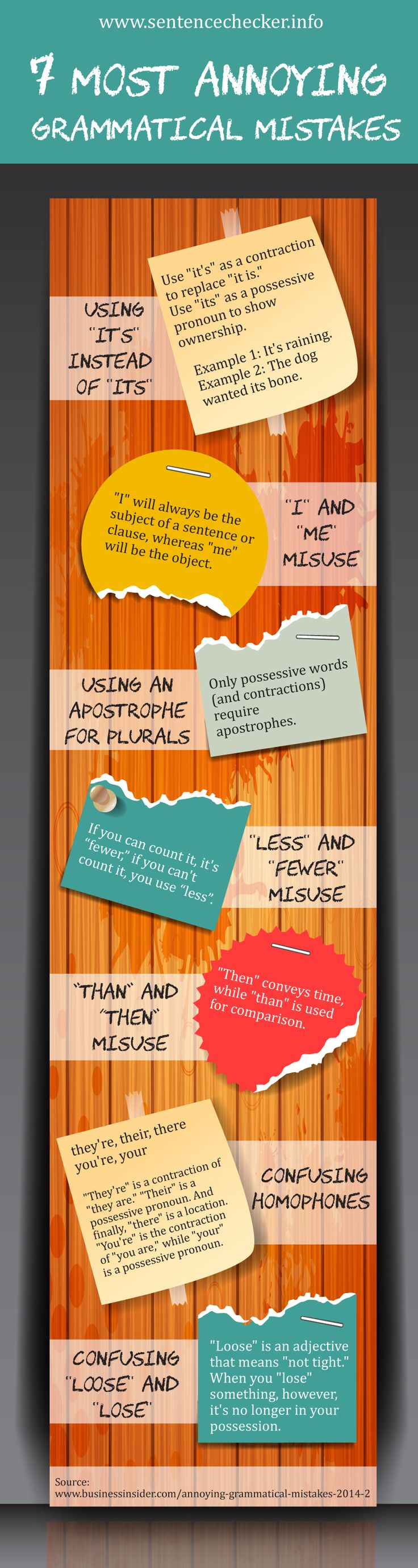 7 Most Annoying Grammatical Mistakes 31 best
