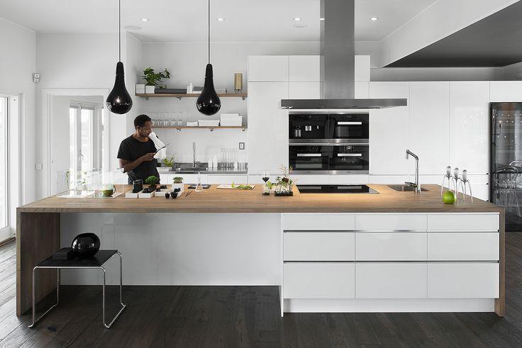 Kjøkkeninspirasjon -  Kjøkken i hvitt - Line