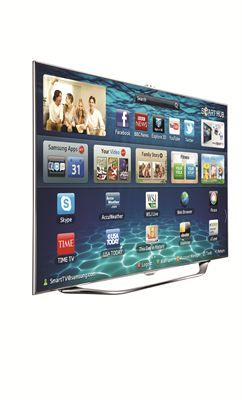 The Samsung Smart TV is a great new product to enhance the #hometheater experience