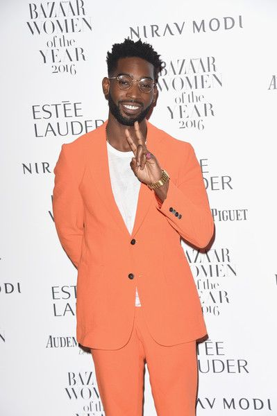 Tinie Tempah Photos Photos - Tinie Tempah attends Harper's Bazaar Women Of The Year Awards at Claridge's Hotel on October 31, 2016 in London, England. - Harper's Bazaar Women Of The Year Awards - Red Carpet Arrivals