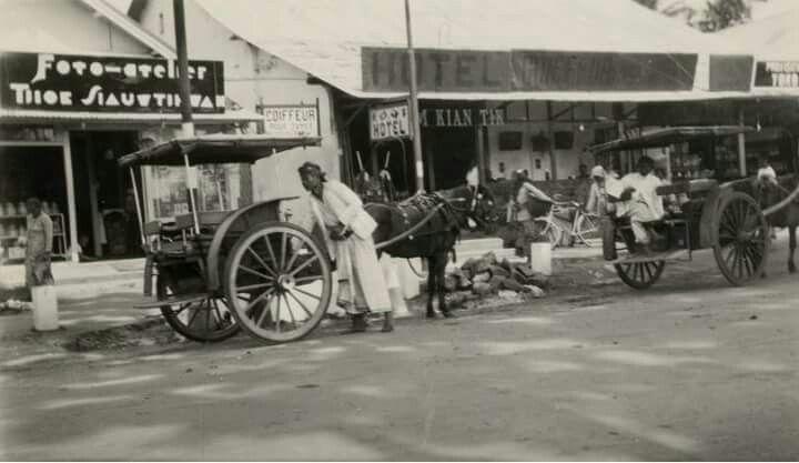 Komplek Pertokoan Lawang, Kab Malang 1933