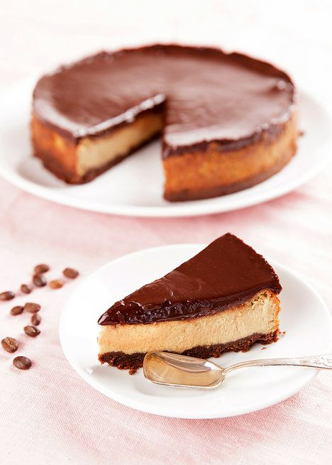 Poctivý cheesecake rozehrává chuť i vůni kávy a rumu; Mona Martinů