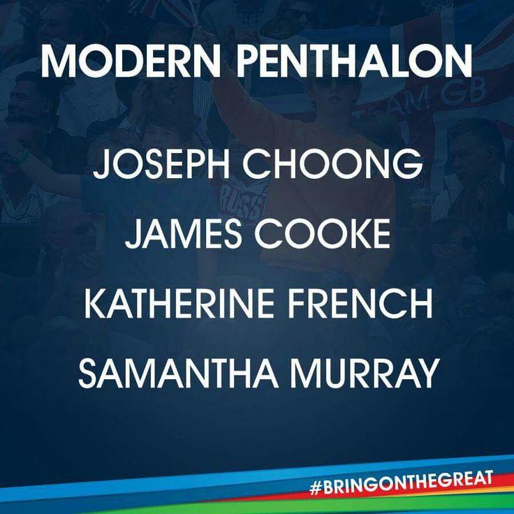 Modern Pentathlon- Team GB Rio 2016
