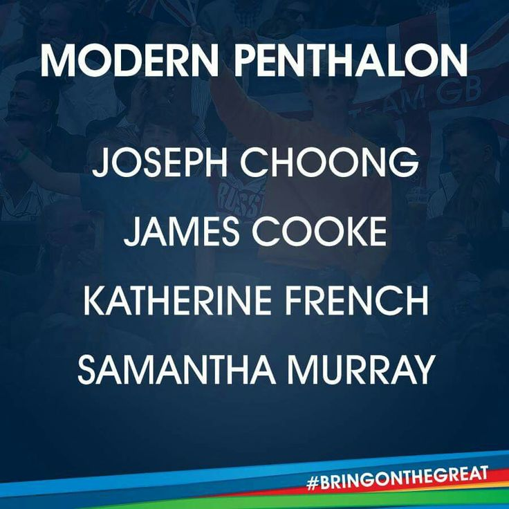 Modern Pentathlon- Team GB Rio 2016