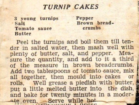 World War  Recipes Honey Cakes