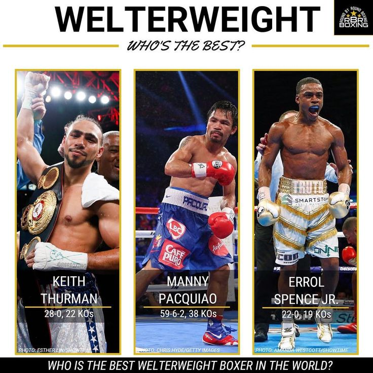 The Welterweight division is stacked! But who is the best? Keith Thurman, Manny Pacquiao, Errol Spence Jr. or someone else? Tag your pick ⬇️ #Boxing #Boxeo #RoundByRound #RoundByRoundBoxing #RBRBoxing #RBRBuzz #Debate #Welterweight #BoxingNews #BoxingGuru #BoxingHype #BoxingFanatik #Boxen #TheTruth #Pacman #OneTime #PremierBoxingChampions #ShowtimeBoxing #TopRank #TRBoxing #Tag #BoxingEmpireSucks #TagYourSquad #Share