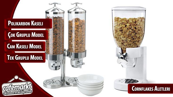 Cornflakes dispenserleri ile açık büfeler düzene giriyor. İçerisindeki ürünü tazeliğini bozmadan saklayan ve açık büfeler için büyük kolaylık sağlayan cornflakes aletleri için tıklayın. http://www.cafemarkt.com/cornflakes-aletleri Cafemarkt.com,Cornflakes aleti,Cornflakes kabı,Cornflakes,Cornflakes dispanseri,Cornflakes aleti fiyatı #Cafemarkt #Cornflakesaleti #Cornflakeskabı #Cornflakes #Cornflakesdispanseri #Cornflakesaletifiyatı