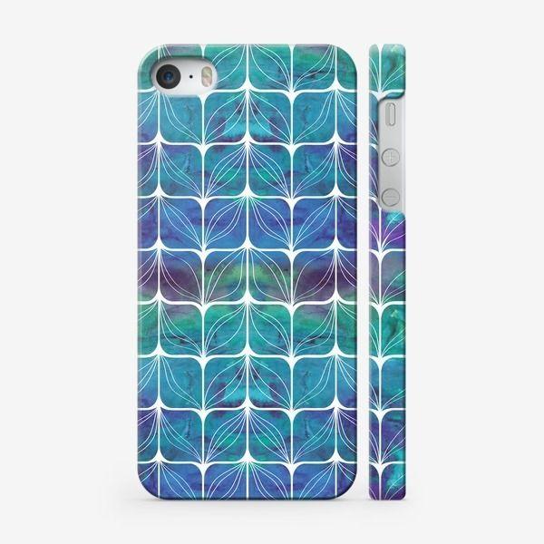 Чехол iPhone «Абстрактный узор. Листья»