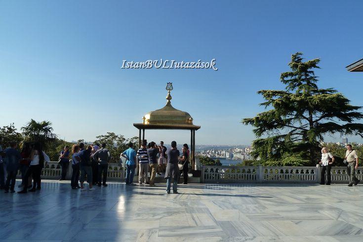 Kilátás a Topkapi palotából