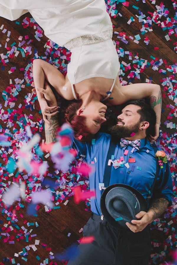 colorful confetti // photo by Lauren Fair
