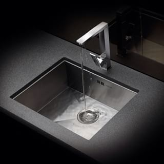 Stainless steel sink.. #REGINOX made in #Holland.  Kitchen sink and accessories.. #sink #tap #kitchen #ontario #dankuchen