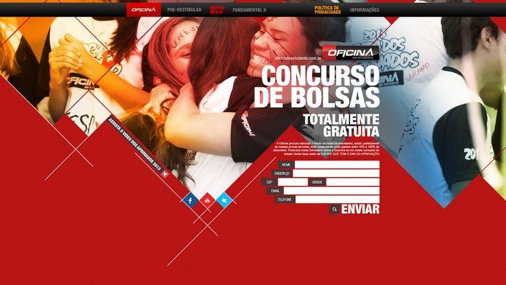 Hotsite - Concurso de Bolsas.