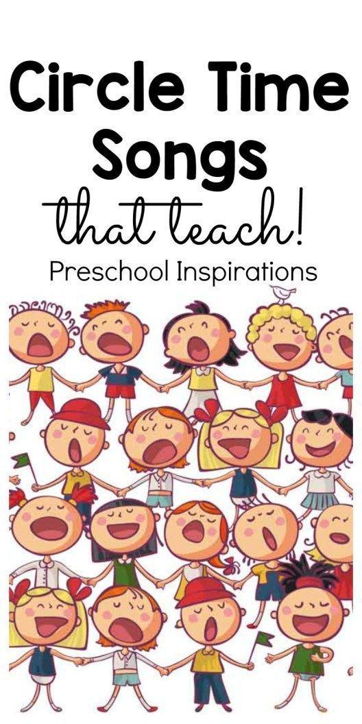 Preschool Songs for Circle Time #preschool Use cir…