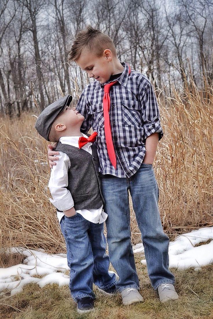 Valentine photo shoot, brothers.