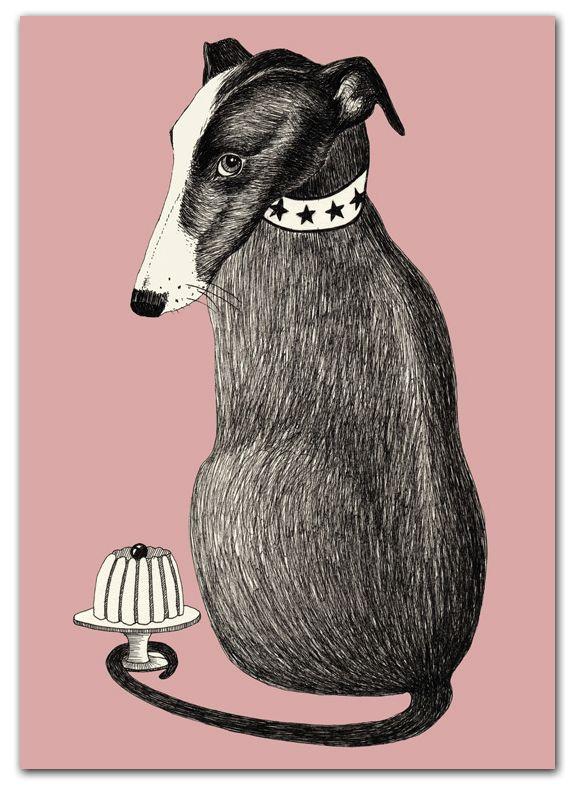 poster dog - Het Paradijs www.uhmah.com